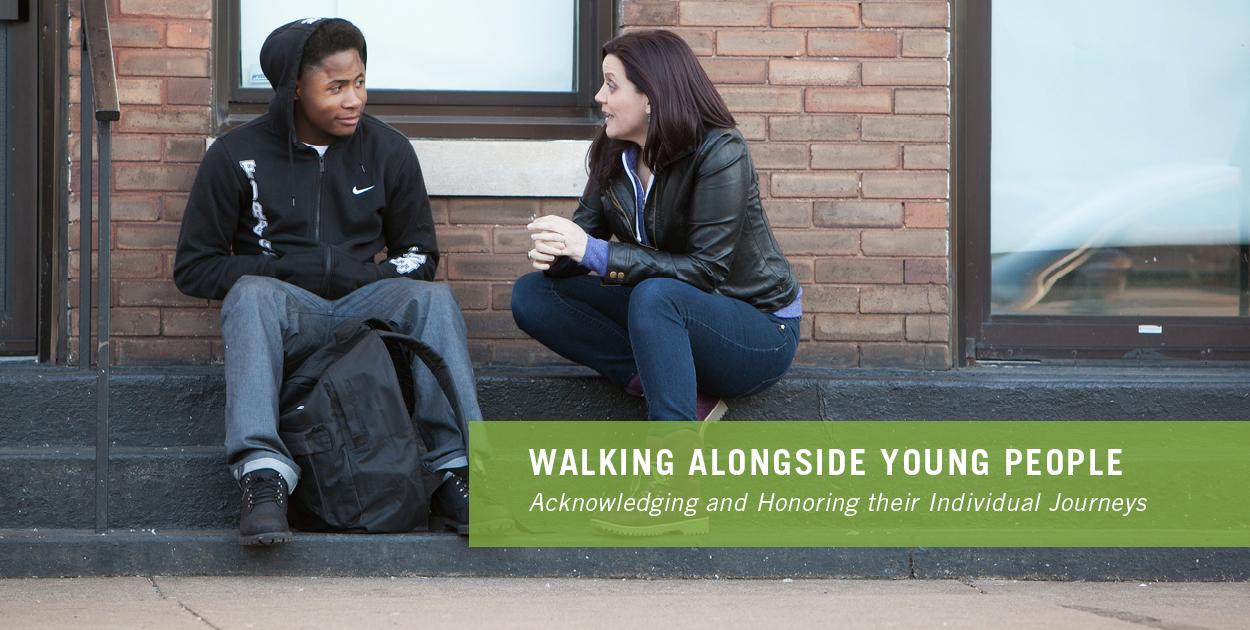 Walking alongside youth image